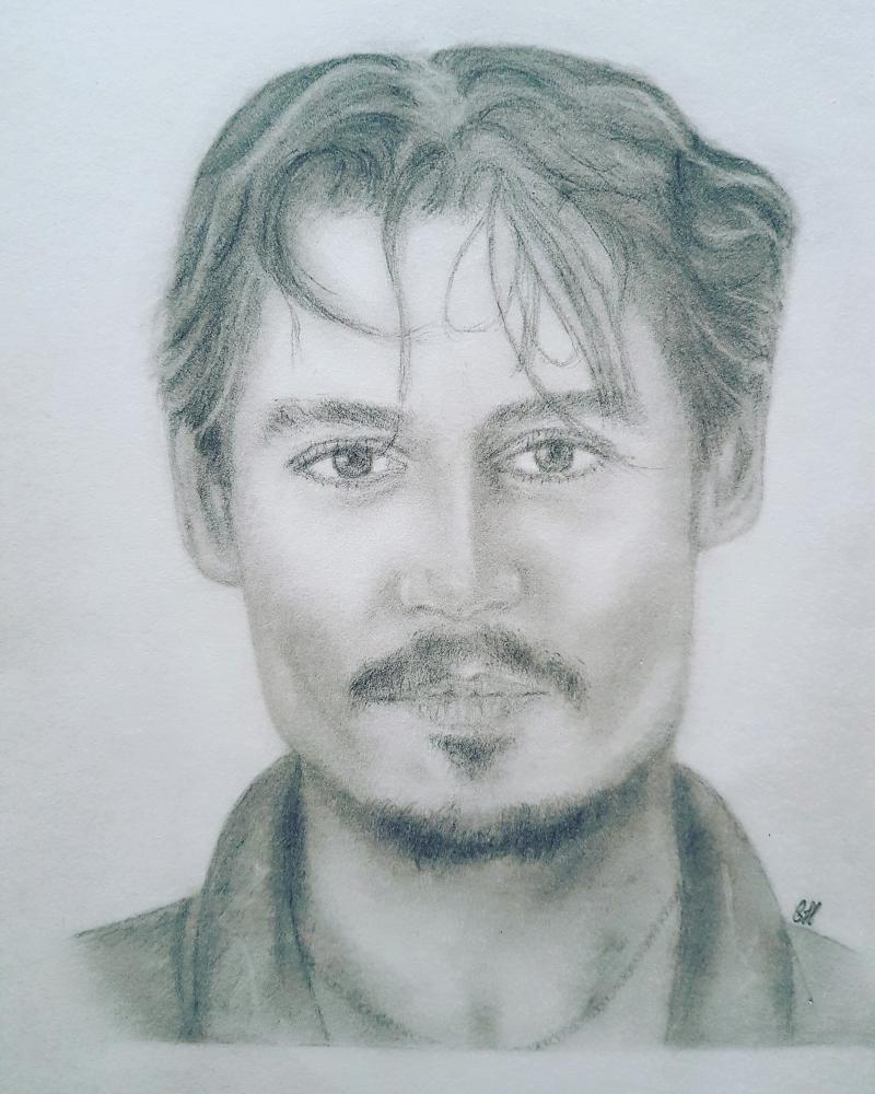 Johnny Depp by choubidoute